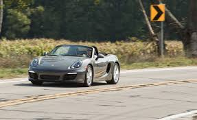 2013 porsche boxster horsepower 2013 porsche boxster manual test review car and driver