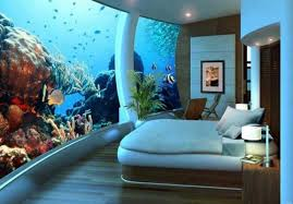 Interior Designs  Home Aquarium Ideas Big Tank In Your Bed Home - Home aquarium designs