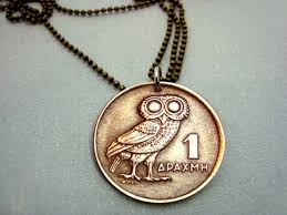 vintage owl necklace jewelry images 90 best coins coin jewelry images coin jewelry jpg
