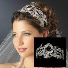 hair accessories uk deco bon bon swirl vintage wedding headbands bd085 wedding