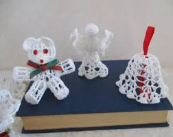 crochet ornaments etsy