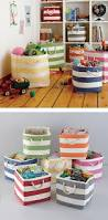 Build Your Own Toy Storage Box by Best 25 Fabric Storage Bins Ideas On Pinterest Fabric Bins