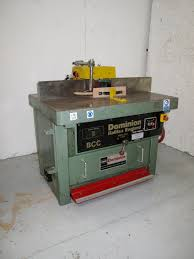 used dominion bcc spindle moulder scott sargeant uk