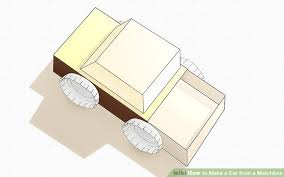 how to make a car from a matchbox 6 steps with pictures