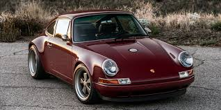 singer porsche williams engine feast your eyes on the latest singer modified porsche 911s