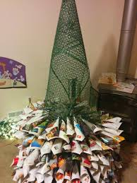 how to make a size brown paper tree crafts a la