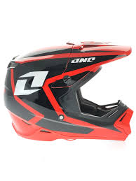 helmet motocross one industries black red honda world motocross gamma mx helmet