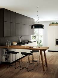 design trendy kitchen peninsula ideas with l shape wooden