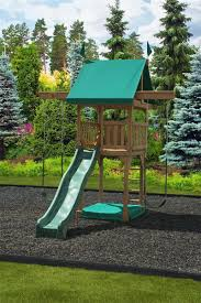 like this would fit in small yard yet has lots of climbing areas