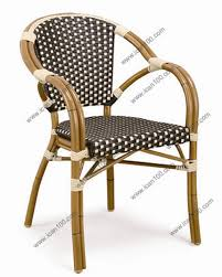 Woven Bistro Chairs China Classic French Rattan Bistro Chairs Bc 08033 China