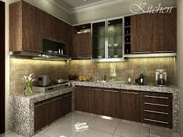 Interior Designs For Kitchen Amusing Design Kitchen Set Minimalis Modern 32 About Remodel