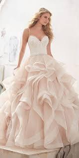 pink wedding dresses best 25 blush wedding dresses ideas on blush wedding