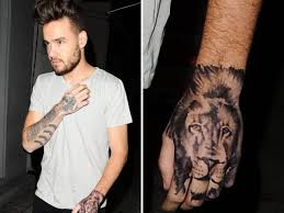 one direction u0027s liam payne got a fake hand tattoo metro news