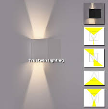 Square Wall Sconce 2017 Ip65 Cube Adjustable Style Hotel Modern Led Box Wall Sconce