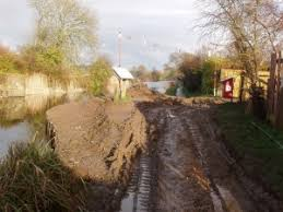 canap banc canal bank restoration update chichester canal