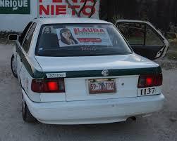 nissan tsuru taxi mexico gargling gas