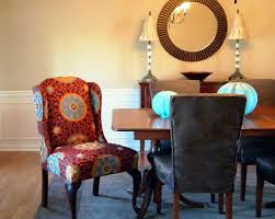 How To Upholster A Dining Chair Back Fabric Covered Dining Room Chairs Radionigerialagos