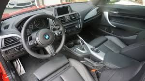 Bmw M235i Interior Bmw M235i Review Bmw 1m Review Bmw M235 Vs 1m