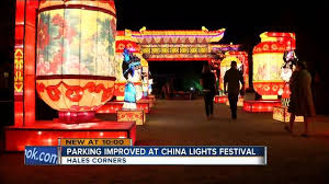 Milwaukee Lights Parking Improved At This Year U0027s China Lights Festival Tmj4