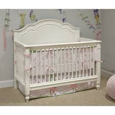 White Convertible Cribs Legacy Harmony Grow With Me Convertible Crib In Antique Linen