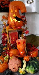 Garden Halloween Decorations 420 Best Fall Pumpkins U0026 Jack O Lanterns Images On Pinterest
