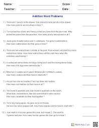 math worksheets word problems worksheets