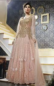 buy embroidered salwar kameez anarkali style dress for wedding