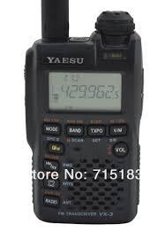 yaesu vx 3r radio ultra compact dual band handheld fm transceiver