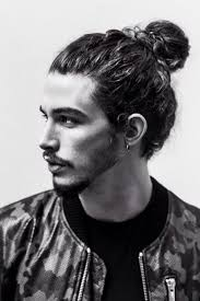 urban haircut for white men these 18 guys styling their hairbun will inspire you for your next