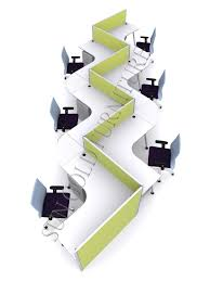 2014 new design office workstation and call center cubicles sz
