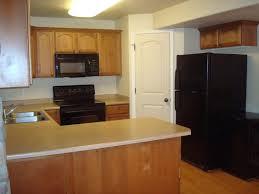 hickory wood portabella shaker door corner kitchen pantry cabinet
