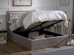 rhea ottoman king size bed