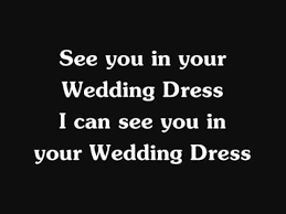 wedding dress lyric taeyang lyrics tae yang wedding dress version
