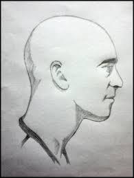 bald man side view by kramguzman on deviantart