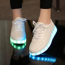 led light up shoes girls white led light up shoes mia belle baby