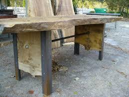 Oak Slab Table by Oak Slab Table Desk Davelennard Com