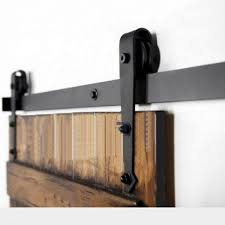 Barn Door Closet Hardware by Barn Door Hardware Arrow 6ft Black Barn Door Hardware Barn