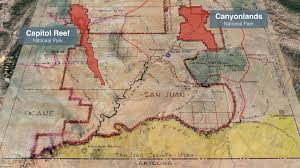 Capitol Reef National Park Map Trump Obama National Parks Antiquities Act Washington Times