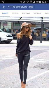Black Leather Scrapbook Jeans Style Scrapbook Leather Pants Black Pants Black Sweater
