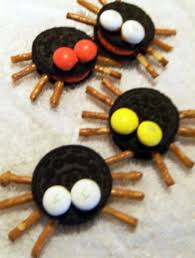 Halloween Salty Snacks Halloween Oreo Cookie Treat Spider Snacks U2013 The Bandit Lifestyle