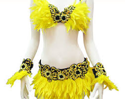 Las Vegas Showgirl Halloween Costume Showgirl Costume Etsy