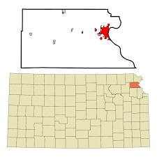 Topeka Zip Code Map by Atchison Kansas Wikipedia