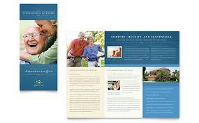 pharmacy brochure template free free tri fold brochure templates senior living community tri