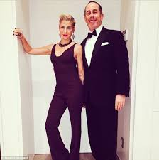 Jerry Seinfeld Halloween Costume Jerry Seinfeld Beams Snl 40 Wife Jessica 43 Shows