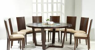 dining amazing italian round dining room tables brown color