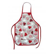 tablier de cuisine enfant tablier de cuisine pour enfant modèle coeur