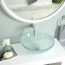 Oval Bathroom Sinks Kitchen Sink Styles Materials Types Bathroom Sinks Type Pros Glass