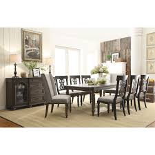 dining room sets with fabric chairs riverside 15850 15859 15857 15857 15857 belmeade 9 piece dining