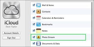 set up icloud account on pc how to setup icloud photo stream on your mac windows