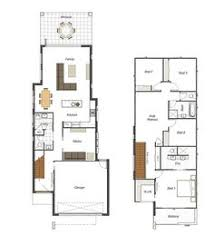 homes for narrow lots floor plan friday narrow but large 2 storey home living spaces